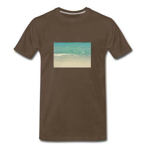 Love the beach. - Men's Premium T-Shirt