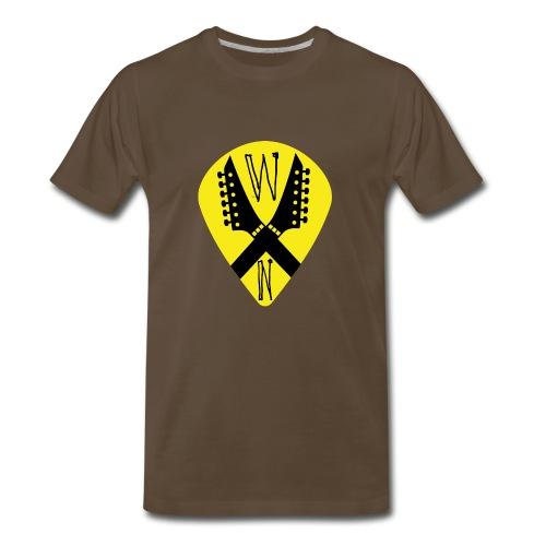 Noise Yellow Pick - Men's Premium T-Shirt