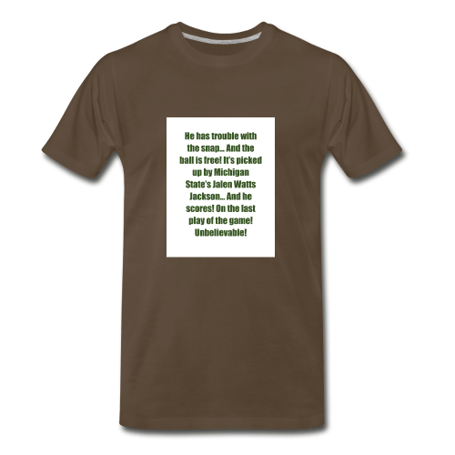 He_has_trouble_with_the_snap-1 - Men's Premium T-Shirt