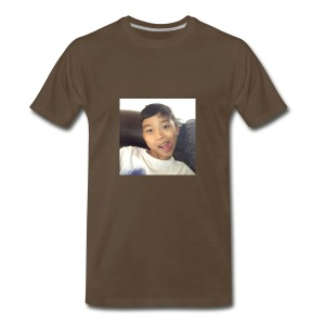 Jahziel Ona Fan Shirt (Face) - Men's Premium T-Shirt
