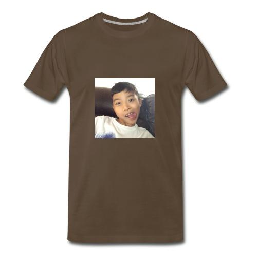 Jahziel Ona Fan Shirt (Face) - Men's Premium T-Shirt