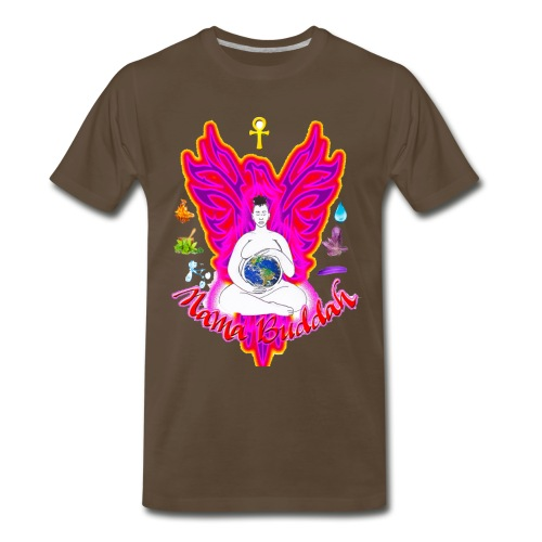 Mama Buddah Logo - Men's Premium T-Shirt