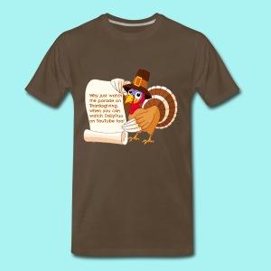 Thanksgiving Turkey - Men's Premium T-Shirt