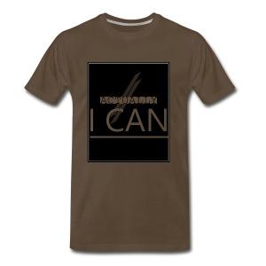 ACTUALLY I CAN - Men's Premium T-Shirt