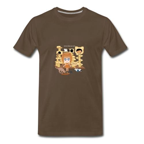 Kittie Girl - Men's Premium T-Shirt