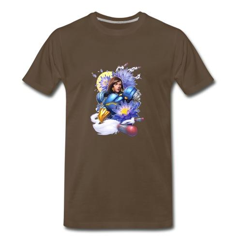 Justice Rains From Above! - Men's Premium T-Shirt