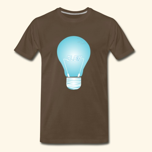 CREATIVE DESIGN || GLOW - Men's Premium T-Shirt