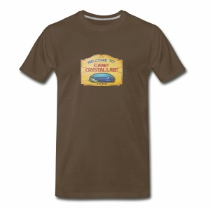 camp crystal lake sign - Men's Premium T-Shirt