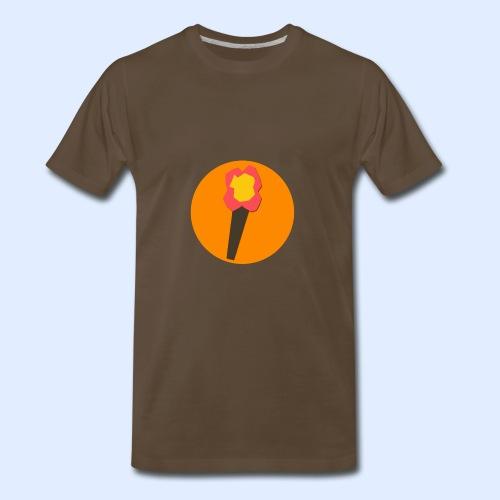NeoMc Redstone Torch Design - Men's Premium T-Shirt