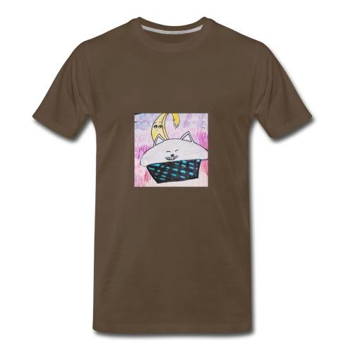 Bananacat adventures - Men's Premium T-Shirt