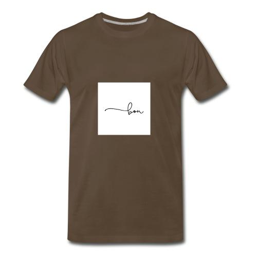 bon logo 2 - T-shirt premium pour hommes