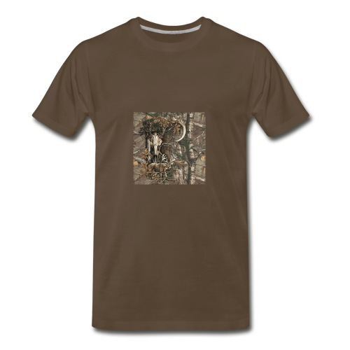 Deer View - Men's Premium T-Shirt