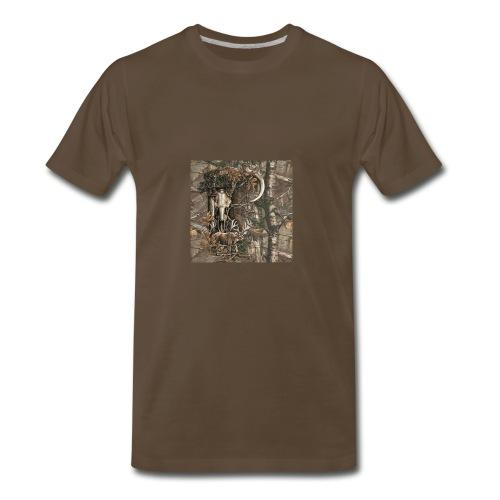 Deer View - Men's Premium T-Shirt