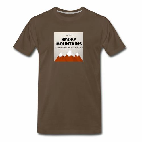 Smoky Mountains - Men's Premium T-Shirt