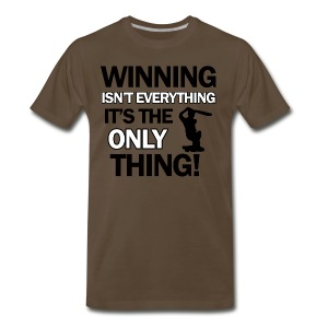 cricket wining tee - Men's Premium T-Shirt