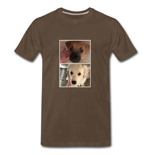 Cute Dog Pic - Men's Premium T-Shirt