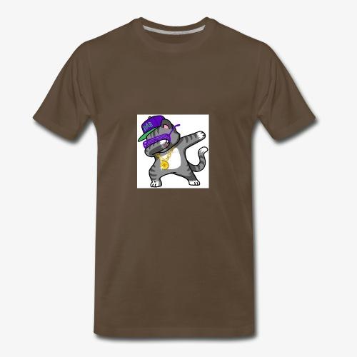 dabbing cat - Men's Premium T-Shirt