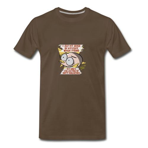 Sense of Mystery quote - Men's Premium T-Shirt