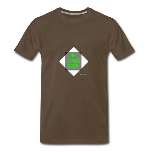 Litness crew sweaters - Men's Premium T-Shirt