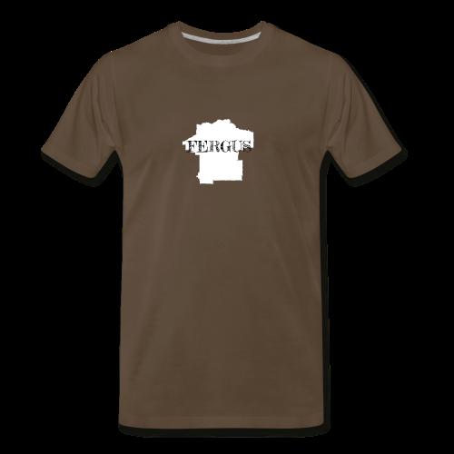 Fergus County, Montana - Men's Premium T-Shirt