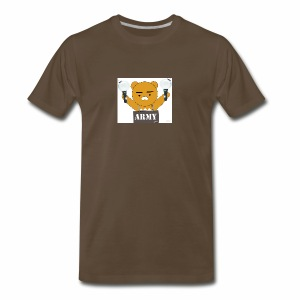 bts bear - Men's Premium T-Shirt