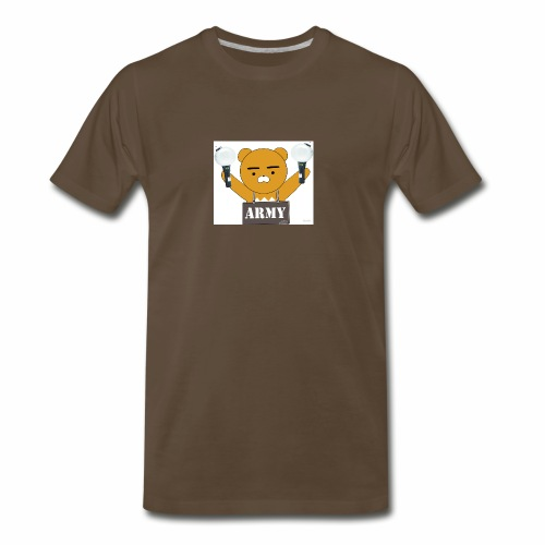 bts bear - Men's Premium T-Shirt