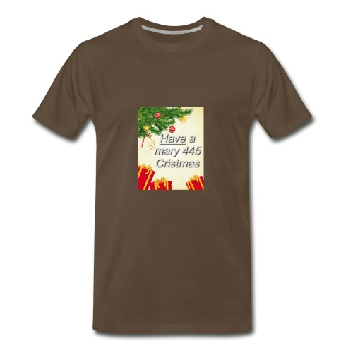 Have a Mary 445 Christmas - Men's Premium T-Shirt