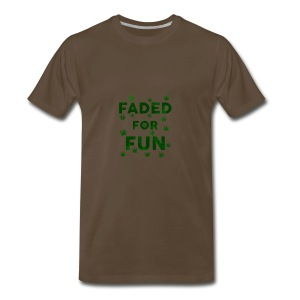Faded For Fun - Men's Premium T-Shirt