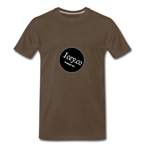 Icey.co straight ice range - Men's Premium T-Shirt