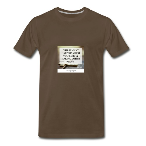 The Meaning of Life - Men's Premium T-Shirt