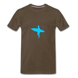 Blue Surfer - Men's Premium T-Shirt