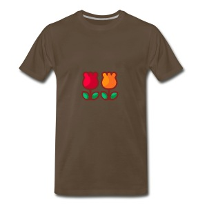 Loving Tulips - Men's Premium T-Shirt