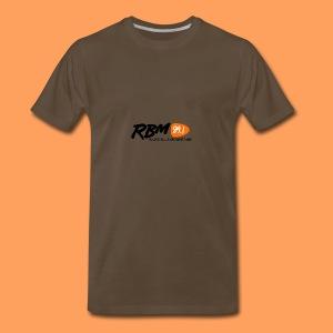 RBM Logo - Orange - Men's Premium T-Shirt