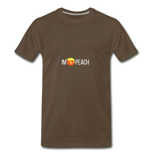 IMPEACH / WHITE - Men's Premium T-Shirt