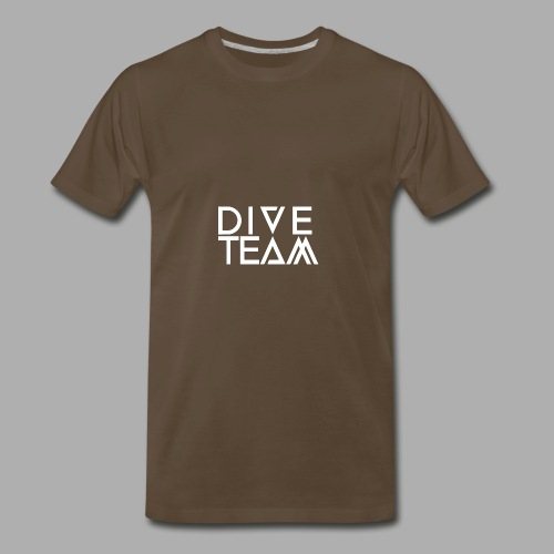 dive team full logo - Men's Premium T-Shirt