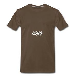 ALLWHITESLASH - Men's Premium T-Shirt