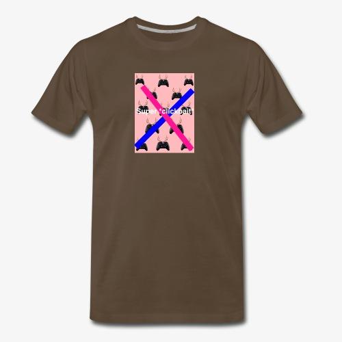 Super *clickbait* - Men's Premium T-Shirt