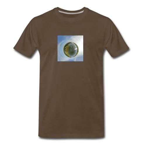 Intracoastal Waterway Tiny Planet - Men's Premium T-Shirt