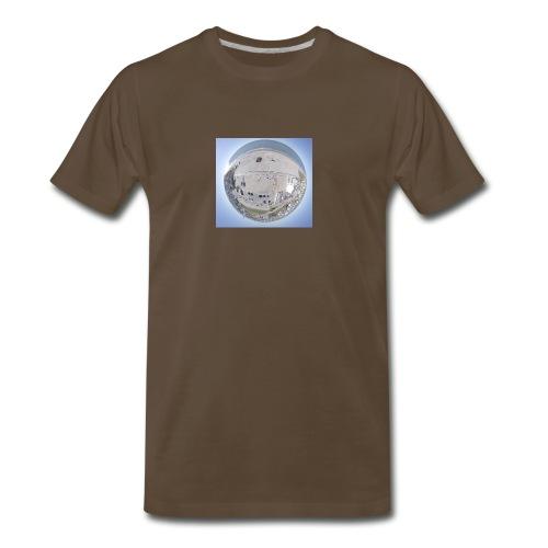 Atlantic Beach Tiny Planet - Men's Premium T-Shirt