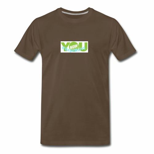 Younow logo - Men's Premium T-Shirt