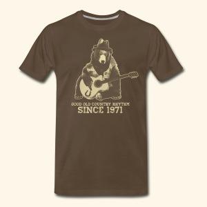 Good Old Country Rhythm - Men's Premium T-Shirt