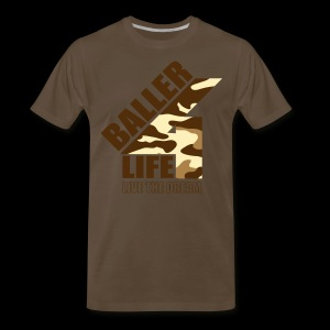 B4LCAMObrown - Men's Premium T-Shirt