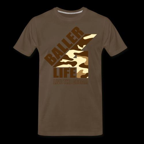 B4LCAMObrown - Men's Premium T-Shirt