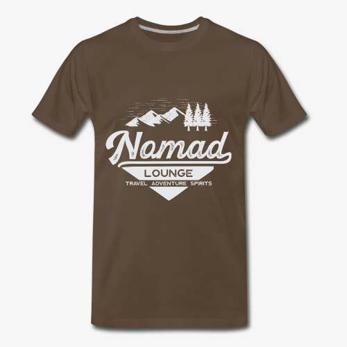Nomad Range (White) - Men's Premium T-Shirt