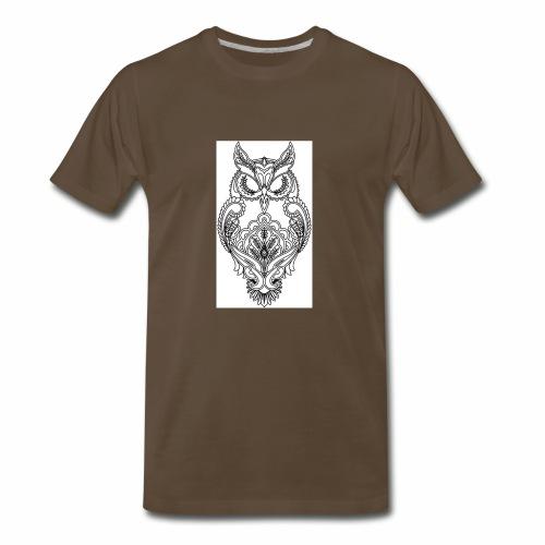 owls look - Men's Premium T-Shirt