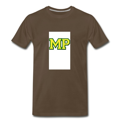 Mp Matthew playz logo long sleeve - Men's Premium T-Shirt