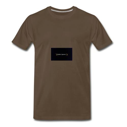 black and gold t shirt - Men's Premium T-Shirt