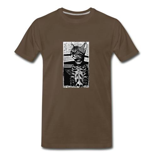 Simbas sunset - Men's Premium T-Shirt