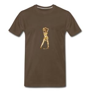 Caution - Men's Premium T-Shirt