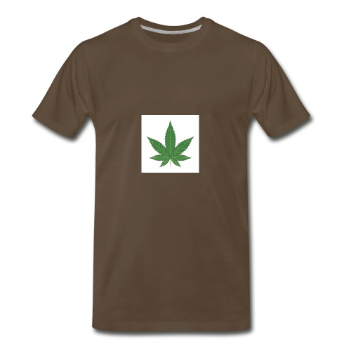 Pot Leaf - Men's Premium T-Shirt